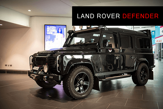 Banner image of Land Rover Defender