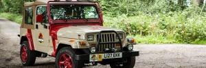 Jurassic Jeep Wedding Car Hire Liverpool